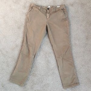 Gap Girlfriend chino khaki pants